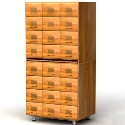 Шкаф картотечный для архивниых карточек 120х171Н мм.