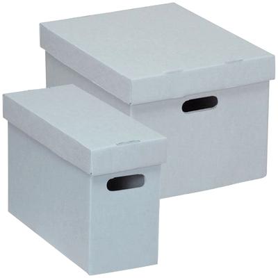 Коробки, коробки регистраторы, папки для архивации и хранения