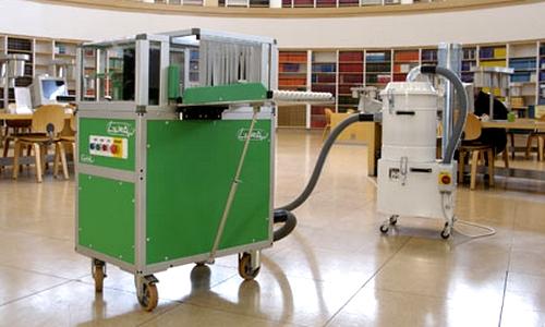 Машина для полу автоматизированного обеспыливания LAURA MAXI в архиве