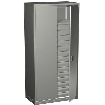 Шкафы драйверного типа с антресолями для хранения фондов