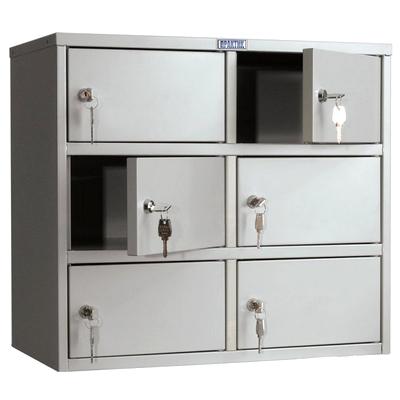 Шкафы металлические многоящичные